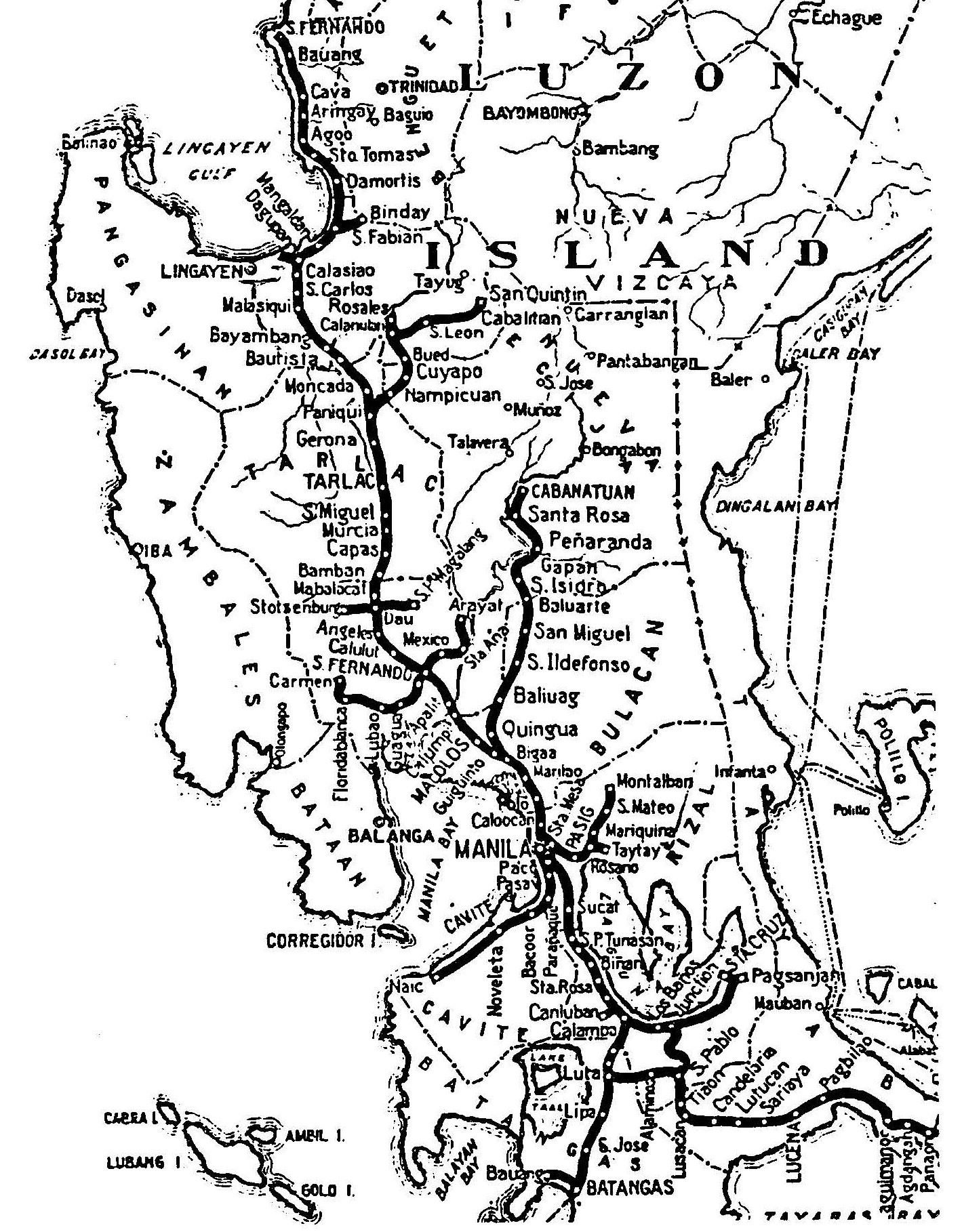 railways of old in manila and rizal caught up in traffic Mekong River Map close up