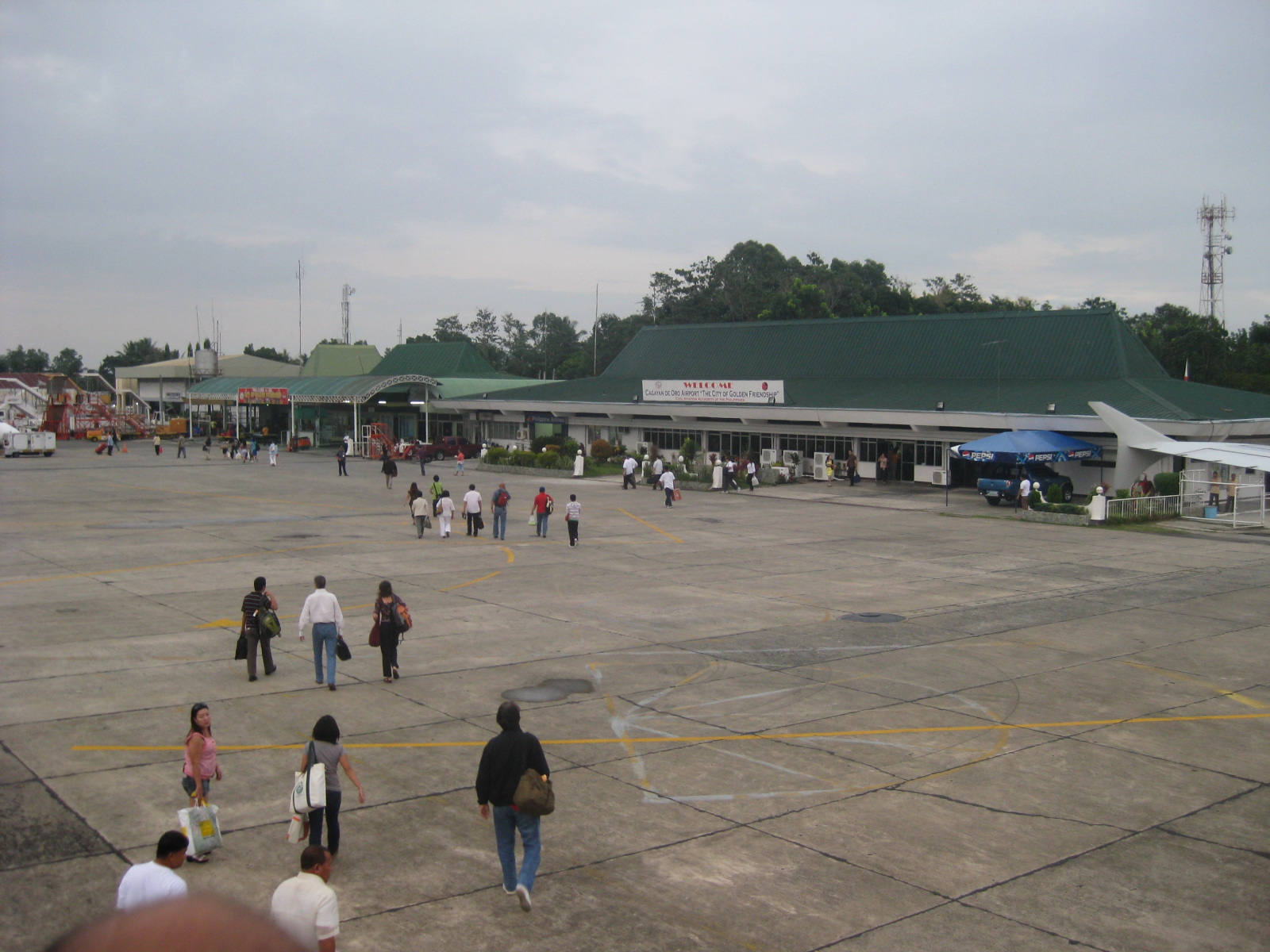 Cagayan De Oro Airport 171 Caught Up In Traffic