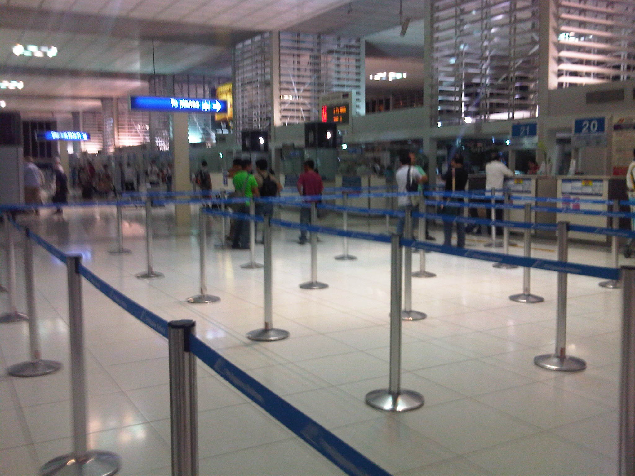 NAIA Terminal 2 « Caught (up) in traffic