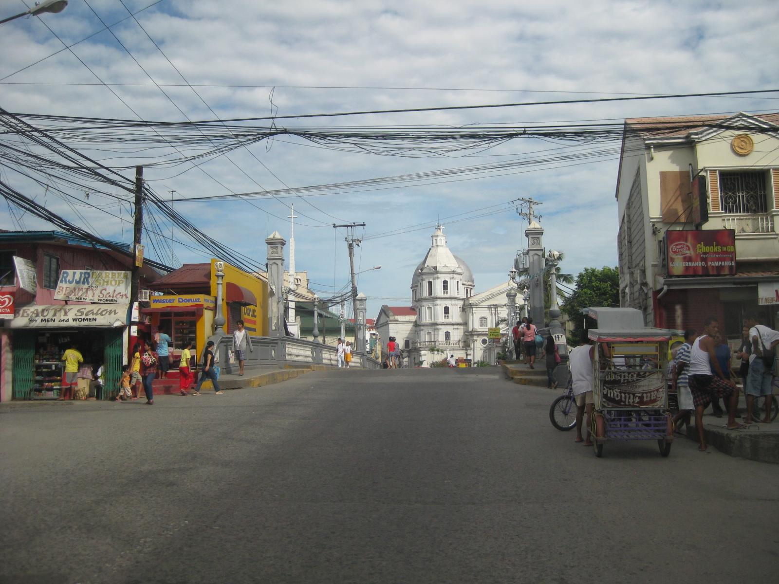 San Fernando, Pampanga Poblacion « Caught (up) in traffic