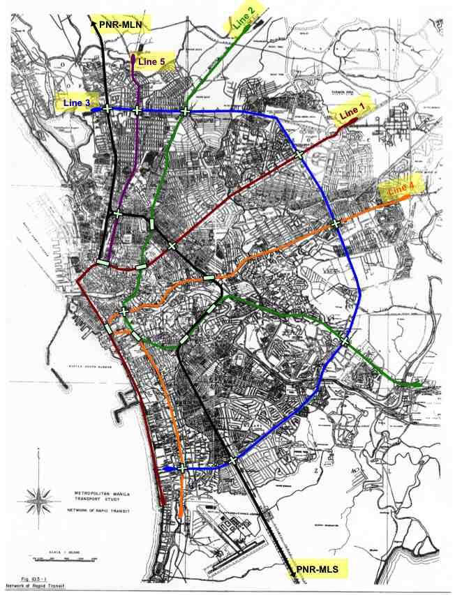 Mega Manila Subway Map.Jica Metro Manila Subway Length 36 Km 15 Stations Page 19