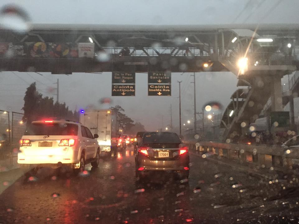Heavy rains Santolan