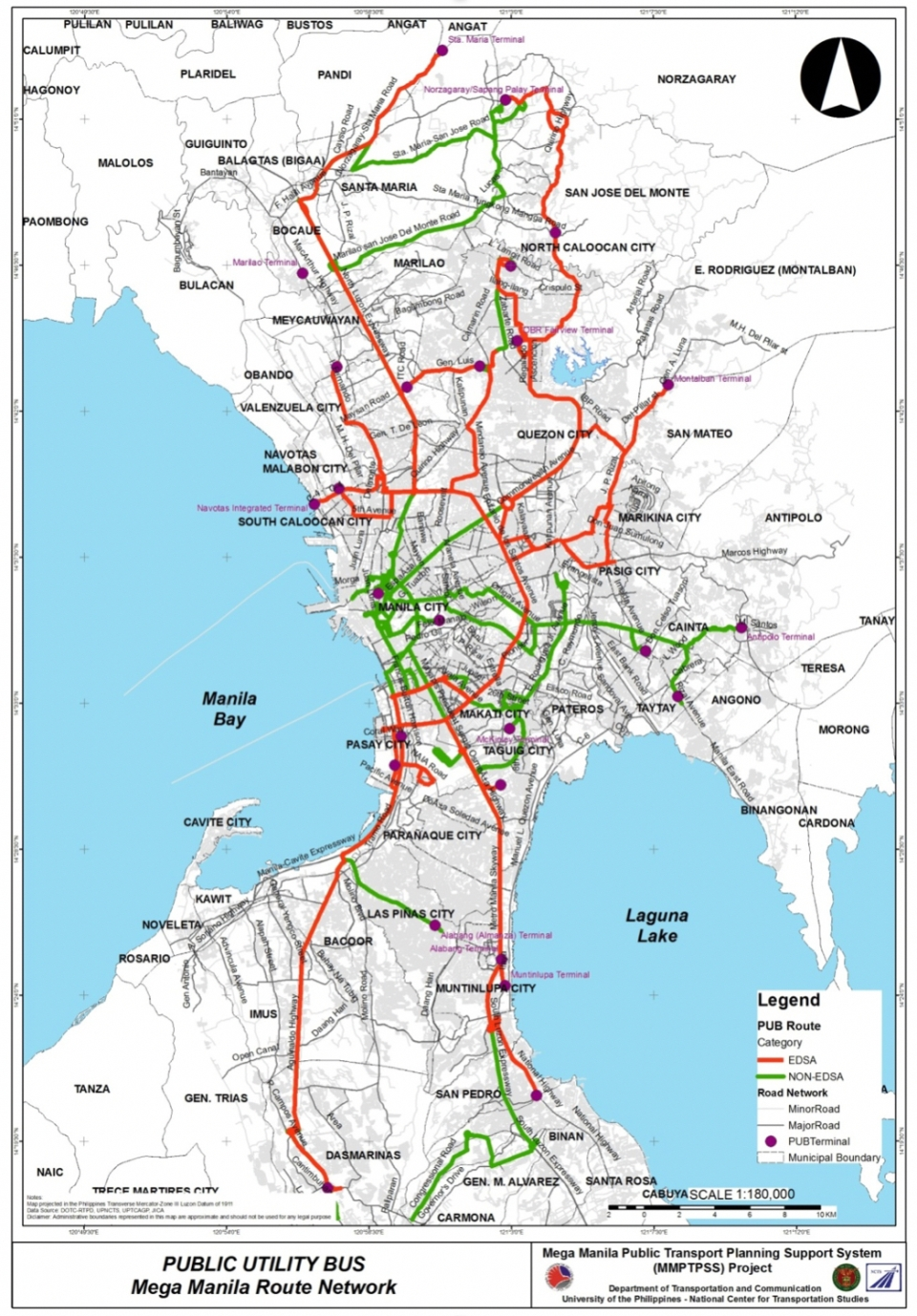 Mega Manila Subway Map.Ltfrb Caught Up In Traffic